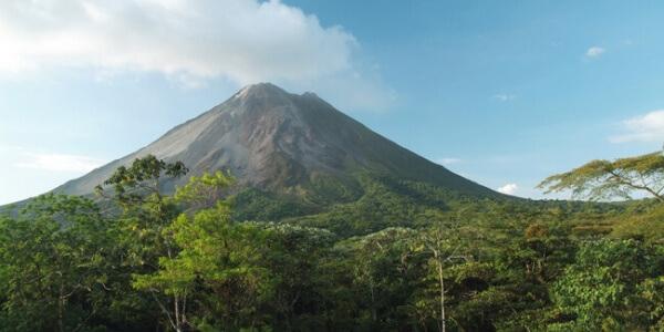 Map of Costa Rica Volcanoes
