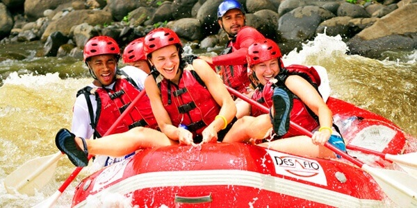 White Water Rafting in Arenal